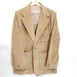 Vintage Angels Flight Velvet Sport Jacket Size 40